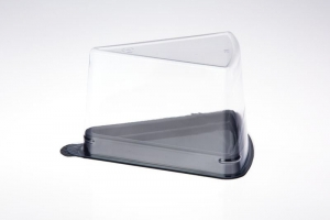 Clear Top Cake Wedge Ux10