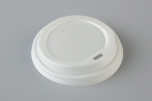 Compostable Lid WH 90mm Ux20