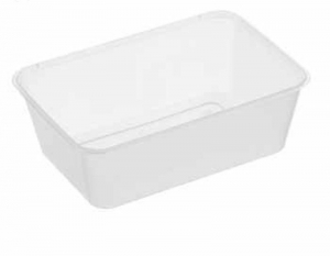 Container Rect 650ml Ux10