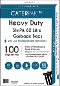 Garbage Bags 82L Ux10