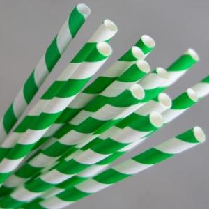 Straw Paper Green/White Ux10