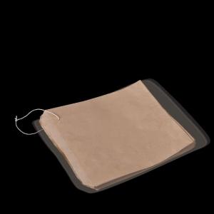 Flat Strung Bag Brown #4 Ux4
