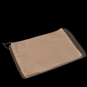 Flat Strung Bag Brown #6 Ux4