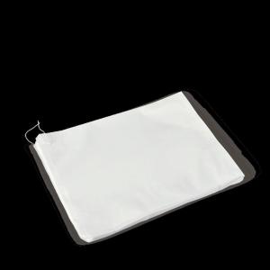 Flat Strung Bag White #8 Ux4