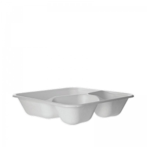 Eco S/Cane Tray 3Cmp 9in Ux4