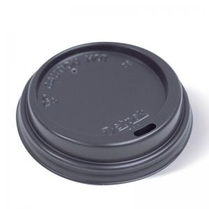 Smooth Black Lid 12-16oz Ux10