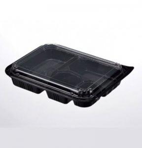 Bento Lid 4 Compartment CTN