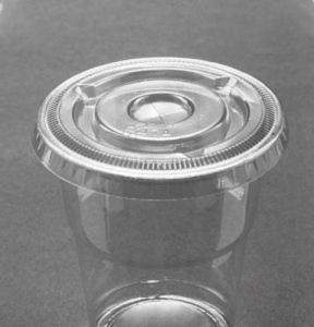 Lid Portion Cup Fla 74mm Ux10
